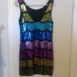 Sequence dress size medium